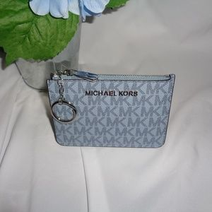 MICHAEL KORS JST SMALL TOP ZIP COIN POUCH CASE ID